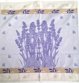 Tea Towel - Square, Lavender, 26x26