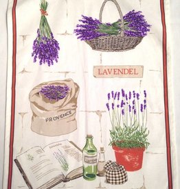 Tea Towel - Portugal, Lav Basket