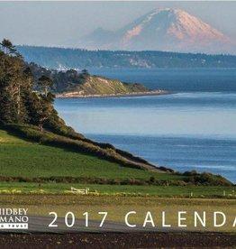 Whidbey Calendar, 8.5x11 WCLT 2017