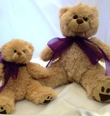 "Lavender Wind Stuffed Bear, ""Furry"", 8"""