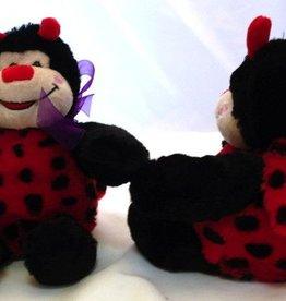 """Stuffed Ladybug, """"Lucky"""", 8"""""""