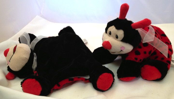 Lavender Wind Stuffed Ladybug, Pillow