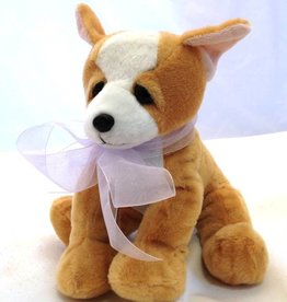 """Lavender Wind Stuffed Chihuahua, """"Chewy"""", 8"""""""