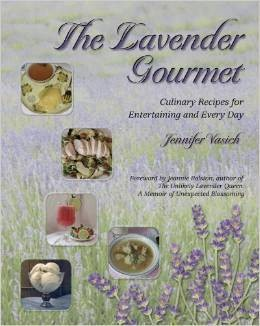 Book, The Lavender Gourmet by J. Vasich