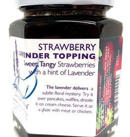 Lavender Wind Strawberry Lavender Topping