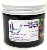 Lavender Wind Strawberry Lavender Topping 3 oz.