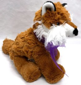 "Lavender Wind Stuffed Fox, ""Roxy"", 8"