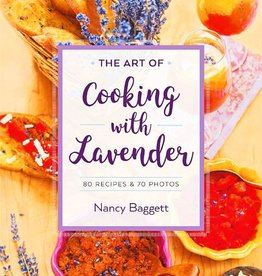 Book, The Art of Cooking with Lavender by Nancy Baggett