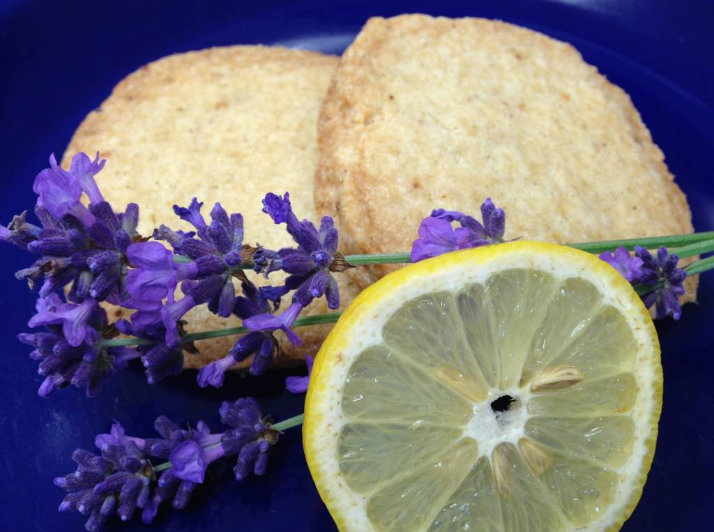 Lavender Wind Lemon Lavender Shortbread FRESH