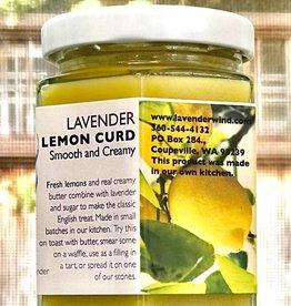 Lavender Wind Lemon Curd with Lavender
