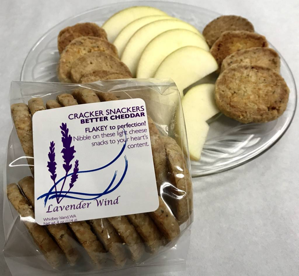 Lavender Wind Cracker Snackers - Better Cheddar
