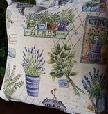 "Provence Decor/MDistributions French Tapestry Pillow 18"" x 18"""