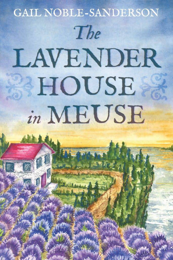 Book, The Lavender House in Meuse