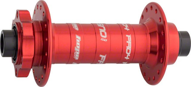 Hope Hope Fatsno Pro 4 Front Fat Bike Hub 150mm x 15mm Front Disc Spacing 32H Red