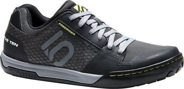Five Ten Five Ten Shoe, Freerider Contact, Black/Lime