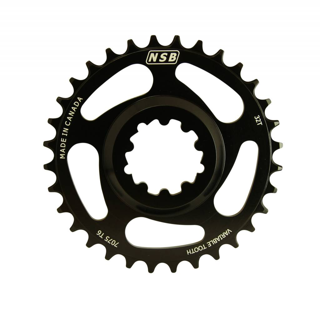 North Shore Billet NSB Direct Mount SRAM GXP Variable Tooth Chainring