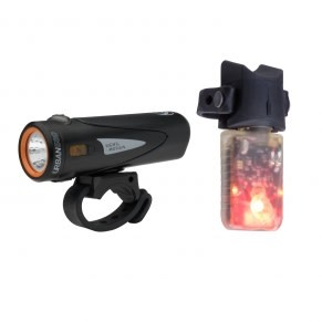 Light and Motion Light and Motion Combo - Urban 500 Onyx + Vibe Taillight