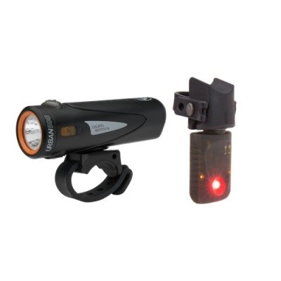 Light & Motion Light and Motion Lights - Combo, Urban 500 Onyx + Vya TL