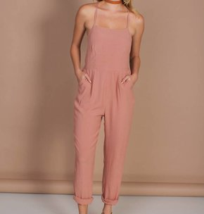 MINK PINK Watch Your Back Jumpsuit