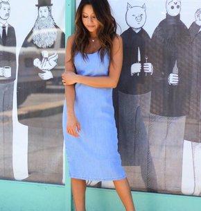 MINK PINK Icon Tencil Denim Dress