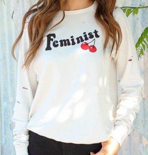 Hips + Hair Hips + Hair Feminist Sweatshirt