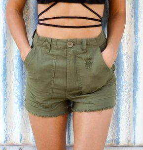 Knot Sisters Knot Sisters Utility Short