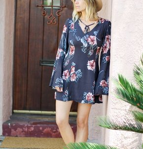 Some Days Lovin' Homecoming Floral Dress