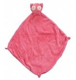 Angel Dear Owl Blankie - Pink