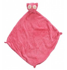 Angel Dear Owl Blankie - Pink