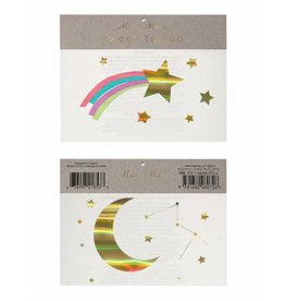 Meri Meri Rainbow & Shooting Star Tattoos