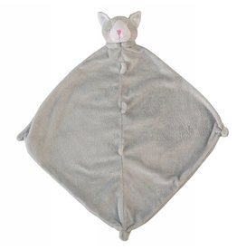 Angel Dear Kitty Grey Blankie