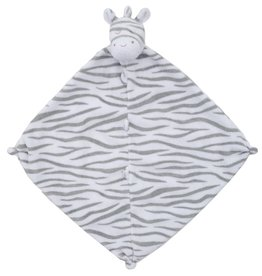 Angel Dear Grey Zebra Blankie
