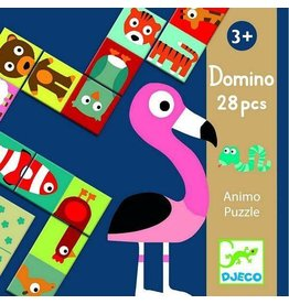 Djeco (Hotaling Imports) Domino Animal Puzzle
