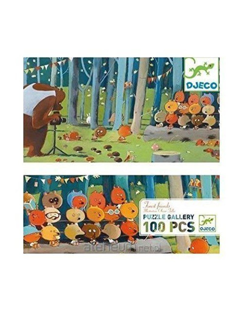 Djeco (Hotaling Imports) Forest Friends Puzzle