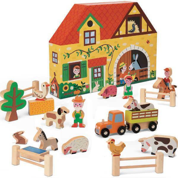 Janod Story Box - Farm