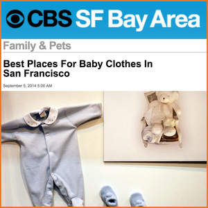 CBS SF Bay Area: Best Places for Baby Clothes