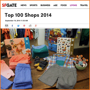 SF GATE:  Top 100 Shops 2014