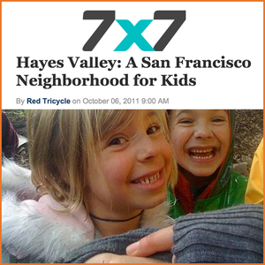 7 x 7: Hayes Valley, A San Francisco