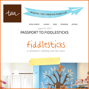 Tea Collection: Passport to Fiddlesticks
