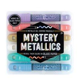 International Arrivals Mystery Metallic Gel Crayons