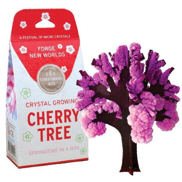 Copernicus Crystal Growing Cherry Tree