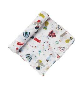 Pehr Big Top Swaddle Blanket