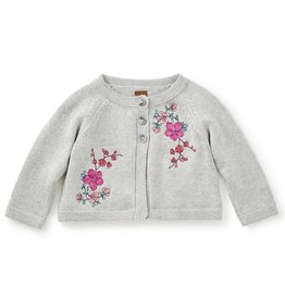 Tea Collection Wago Embroidered Baby Cardigan
