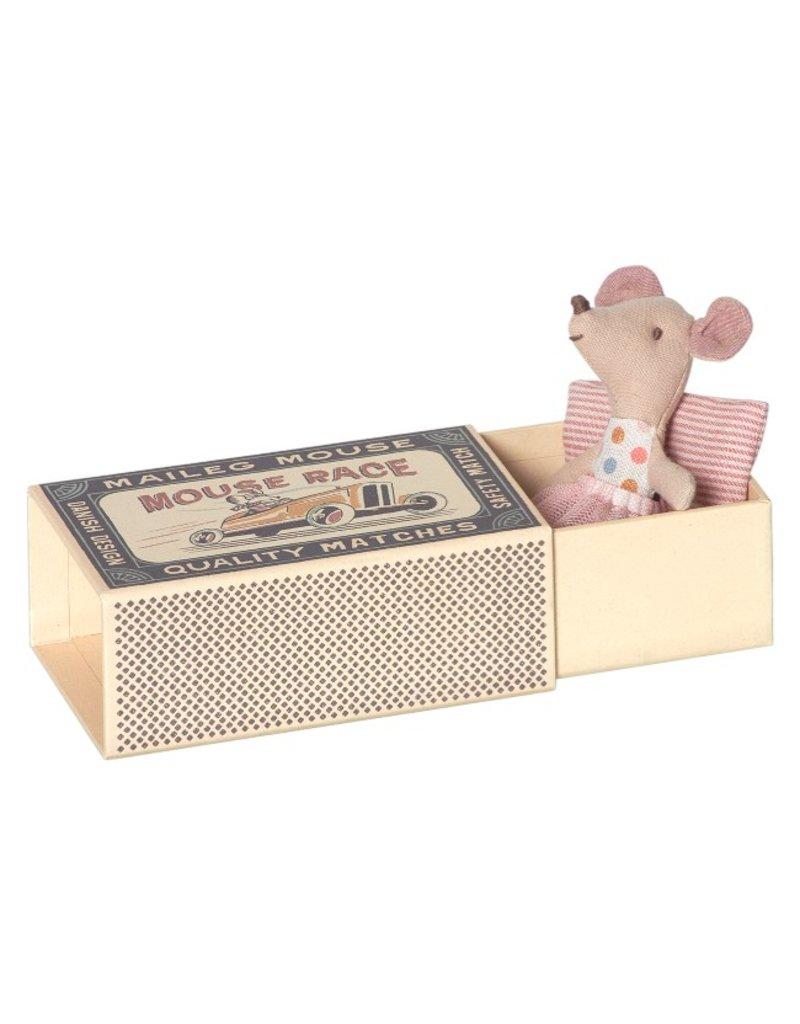 Maileg Little Sister Tutu Mouse Box