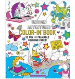 International Arrivals Color'in Book - Unicorn Adventures