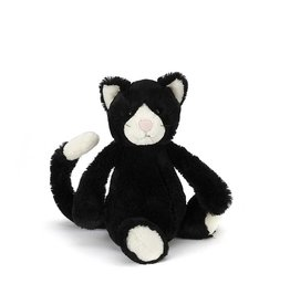 Jellycat Bashful Black and White Kitten - Small