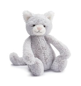 Jellycat Bashful Kitty Grey - Small