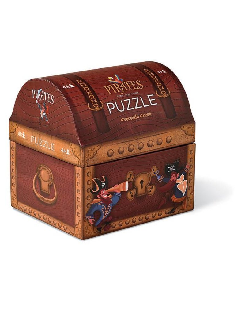 Crocodile Creek Pirate's Treasure Puzzle 48 pc