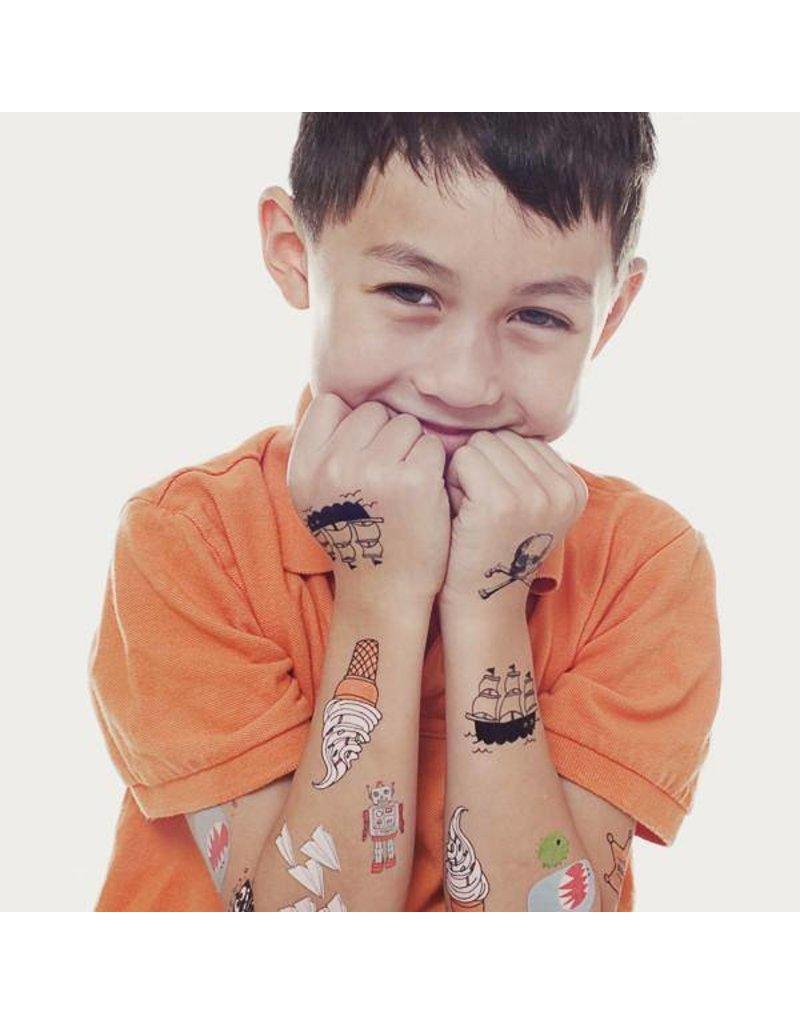 Tattly Kids Tattoo Set One