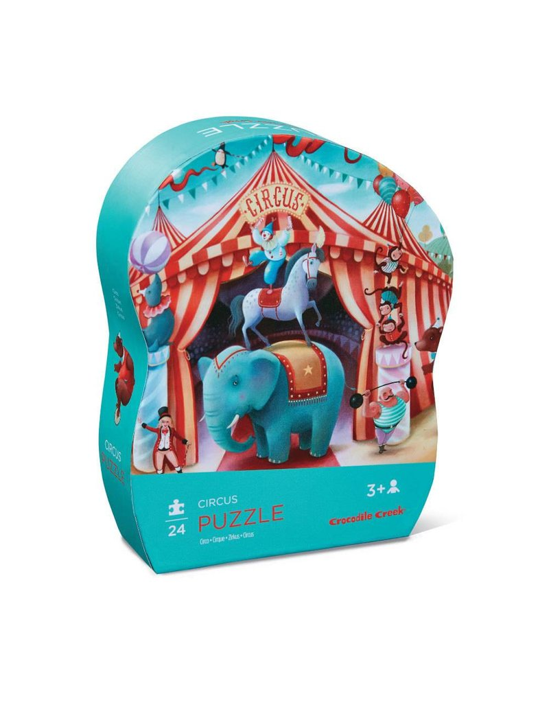 Crocodile Creek Circus Mini Puzzle 24 pc